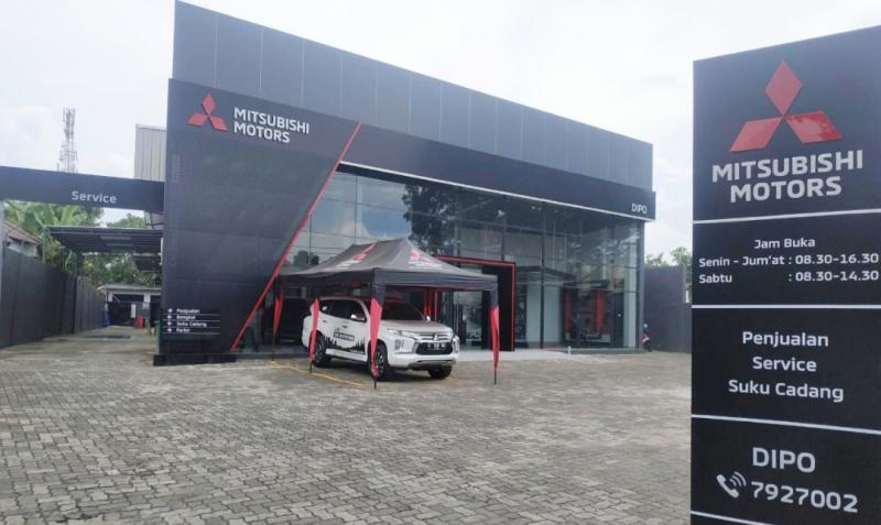 Dealer Mitsubishi DIPO Serang City terletak di area strategis dan potensial wilayah Banten dengan perkembangan perumahan dan aktivitas perekonomian.
