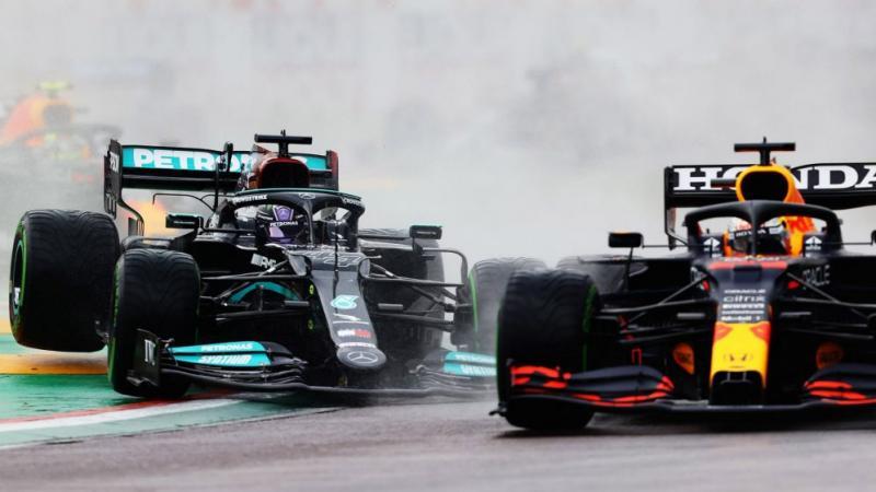 Rivalitas sengit RB16B versus W12, sama-sama usung mesin baru ke GP Prancis. (Foto: formula1)