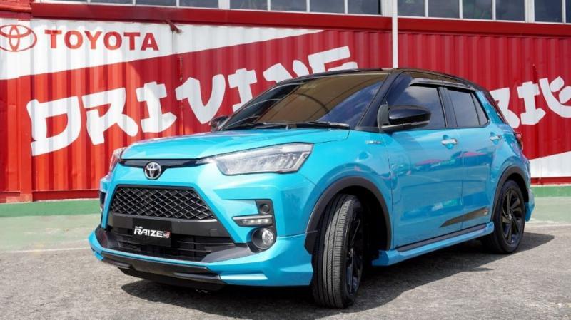 Model Toyota Raize merupakan Compact SUV baru untuk pasar Indonesia