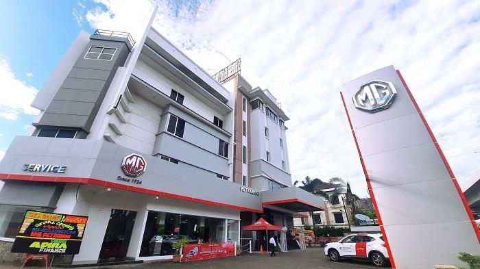Dealer baru 3S MG di Makassar yang siap memberikan layanan prima hingga Manado
