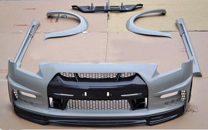 Model paket bodi kit untuk mempercantik tampilan eksterior mobil