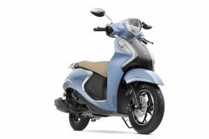 Model skuter  Fascino 125 Fi yang menjadi skuter Hybrid yang lebih ramah lingkungan