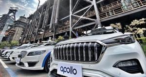 Deretan Taksi Apollo tanpa pengemudi yang siap menjadi transportasi umum di Tiongkok