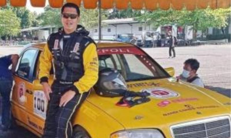 Pandu Pradana, sosok hiperaktif yang sangat mencintai dunia otomotif dan balap mobil. (foto : ist)