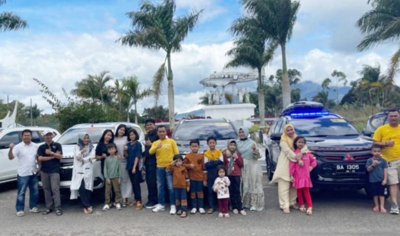 Ketika Sumatera Pajero Society Rumah Gadang bersiap menjelajah ke destinasi favorit Nol Kilometer Indonesia di Sabang