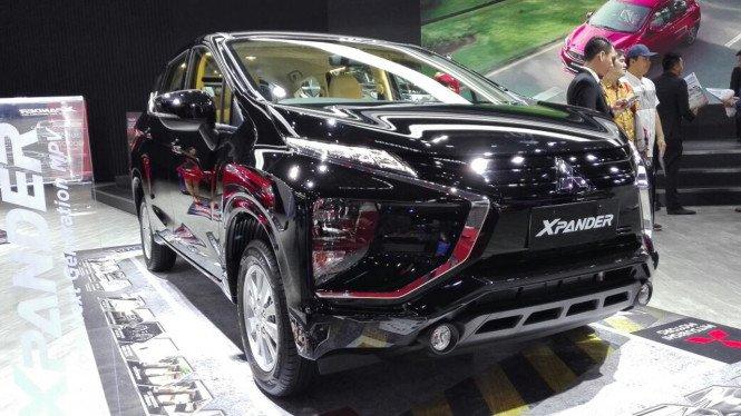 Salah satu unit Xpander Ultimate yang menjadi andalan penjualan Mitsubishi Indonesia
