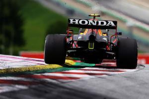 Kelegaan Red Bull Honda karena mesin eks GP Inggris masih layak pakai. (Foto: ist).