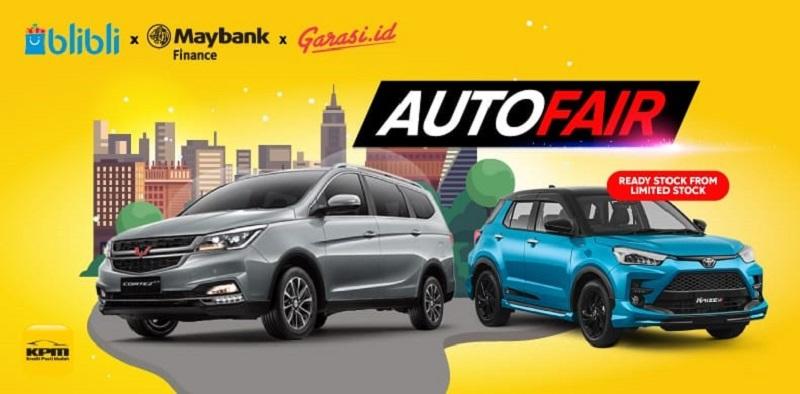 Autofair Virtual ala Blibli jadi upaya mendorong pertumbuhan pasar otomotif