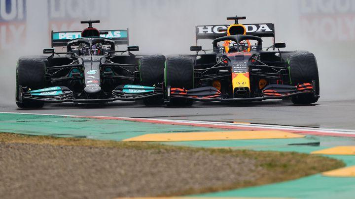 Rivalitas ketat Mercedes versus Red Bull Honda, kali pertama sejak era hybrid di 2014 yang dikuasai Mercedes. (Foto: as)