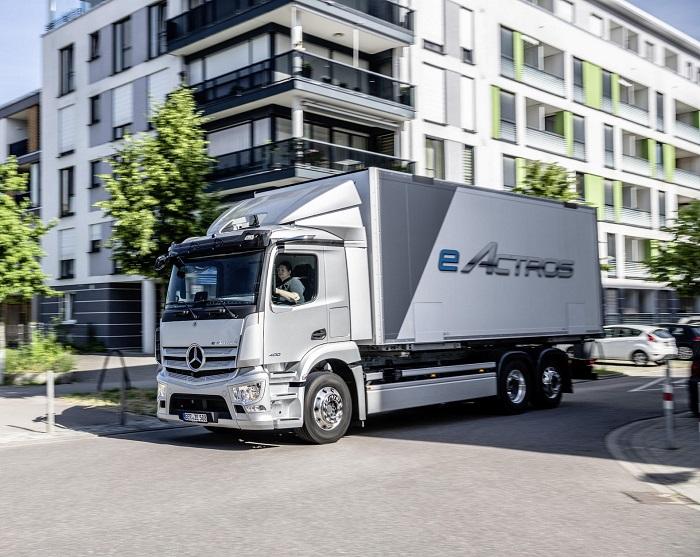 Truk listrik Mercedes eActros sebagai kendaraan komersial masa depan