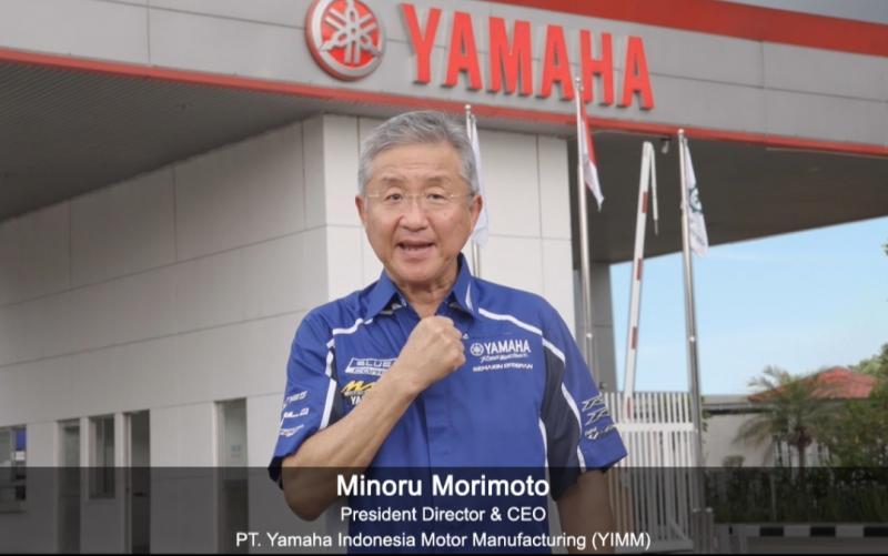 Minoru Morimoto, inspirasi dan spirit Yamaha Indonesia di hari ulang tahun ke-47