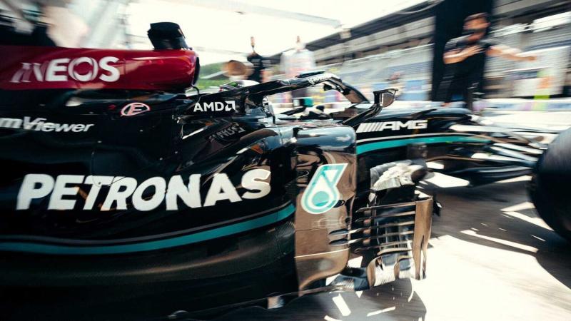 Perubahan set up W12 di garasi Mercedes, bawa perubahan performa Lewis Hamilton di Austria. (Foto: racingnews365)