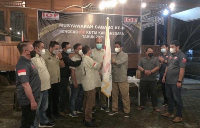 Dengan Ketua baru, Pengcab IOF Kukar punya semangat baru.(foto : sugeng).