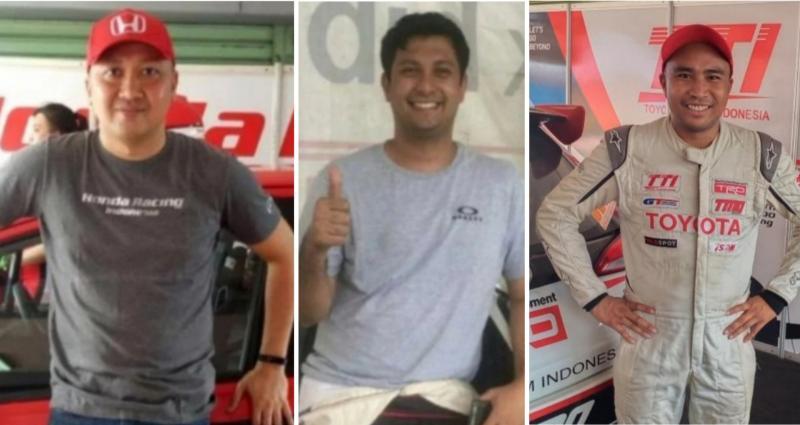 Dari kiri Alvin Bahar, Umar Abdullah dan Haridarma Manoppo. (foto : kolase)