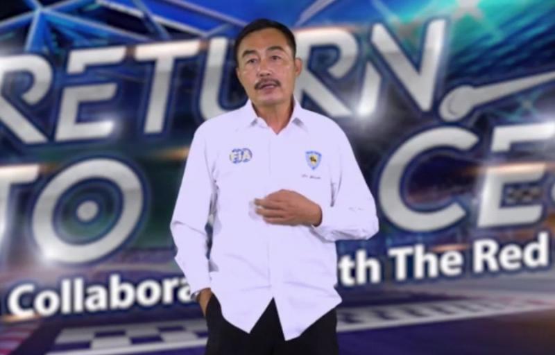 Dokter Steven Antonis, Chief Medical Officer IMI Pusat dan Sentul International Circuit
