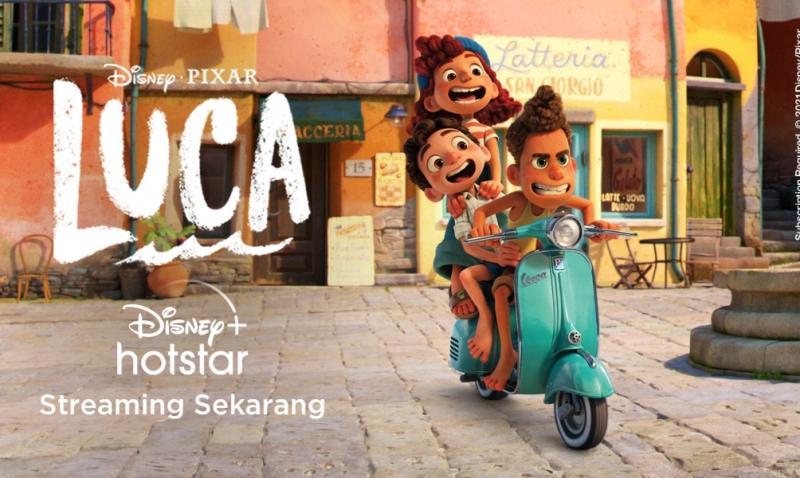 Semangat jiwa pemberani Vespa warnai film animasi Disney and Pixars Luca, siap hidupkan pengalaman berkendara penuh petualangan