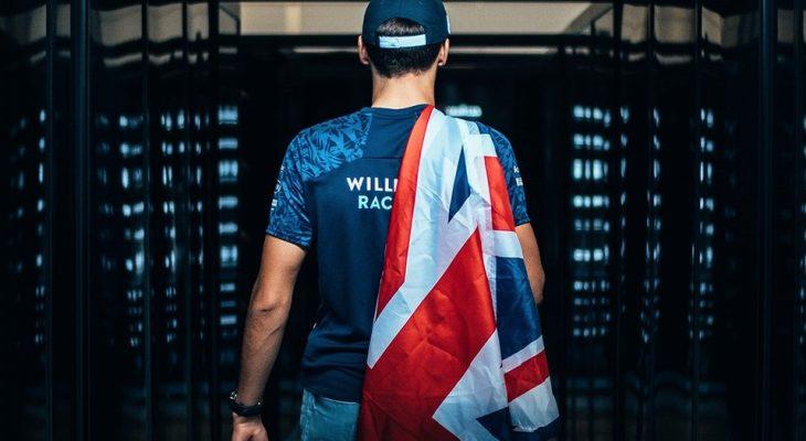 George Russell (Inggris/Willimas) melangkah semakin pasti menggantikan Valtteri Bottas di Mercedes. (Foto: grandprix)