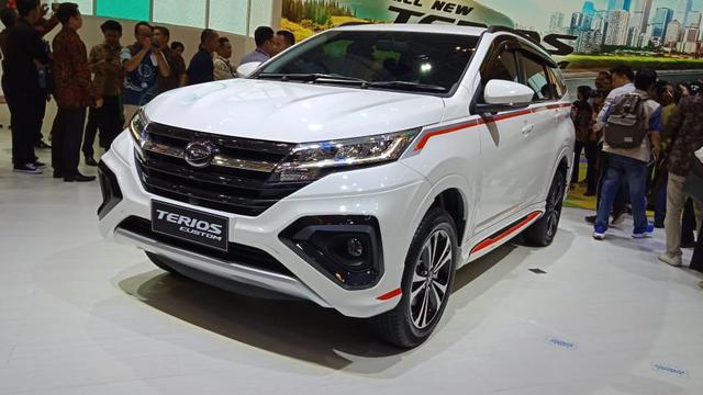 New Terios SUV andalan Daihatsu yang telah mendapat sentuhan modifikasi ala pabrikan