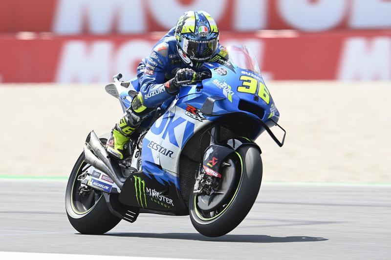 Joan Mir (Spanyol/Suzuki), juara dunia 2020 yang mulai oleng di musim 2021. (Foto: motorsport)
