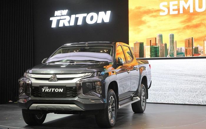 New Triton, salah satu mobil pick up andalan Mitsubishi di pasar niaga ringan