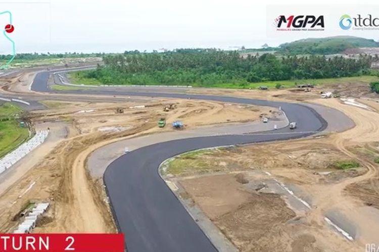 Sirkuit Internasional Mandalika di Lombok, Indonesia, secara teknis bakal jadi salah satu trek tercepat di dunia. (Foto: mgpa)