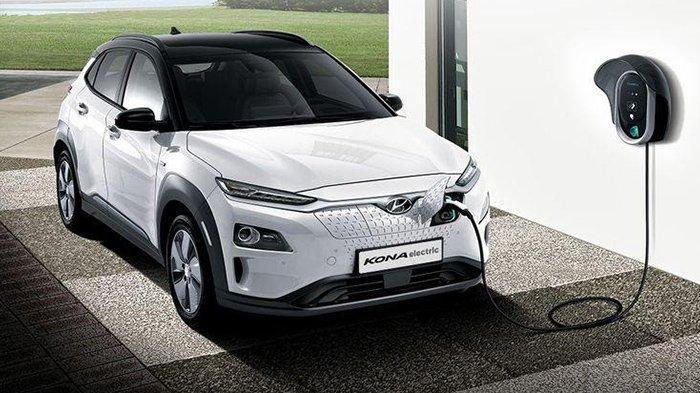 Hyundai Kona Electrik, salah satu mobil listrik yang mendorong percepatan elektrifikasi di Tanah Air