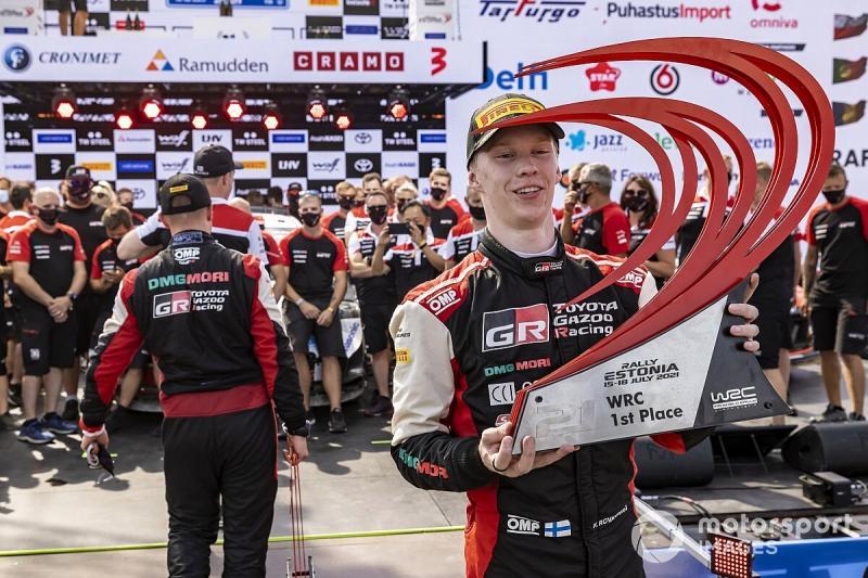 Kalle Rovanpera (Finlandia/Toyota Gazoo Racing) pemegang rekor baru juara termuda di serial kejuaraan dunia reli WRC. (Foto: motorsport)