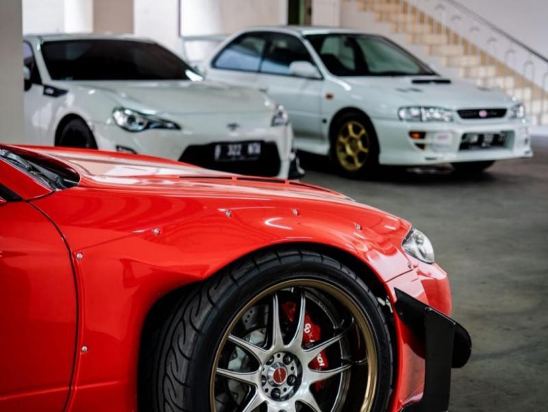 Mobil-mobil modifikasi yang akan ditampilkan pada Road to IMX 2021: Virtual Stage Pekanbaru.
