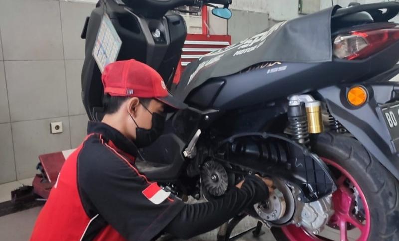 Perawatan CVT motor matik yang perlu diperhatikan pemilik motor dan konsumen