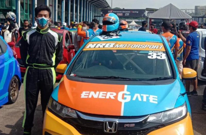 Muhammad Andri Abirezky, ISSOM ditunda karena pandemi Covid-19 lantas turun di event sim racing Balap di Rumah 2021