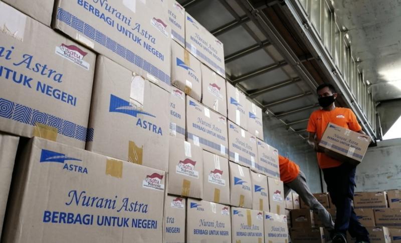 Astra serahkan bantuan tahap ketujuh Rp30 miliar untuk masyarakat terdampak pandemi COVID-19