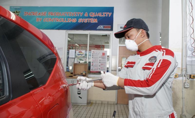 Awas karat, Auto2000 memiliki solusi cara mudah memperbaiki bodi mobil yang rusak di masa PPKM Level 4