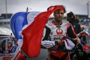 Johann Zarco (Prancis/Pramac Ducati) masih bermimpi jadi juara dunia MotoGP setelah dua gelar di Moto2. (Foto: rueter)