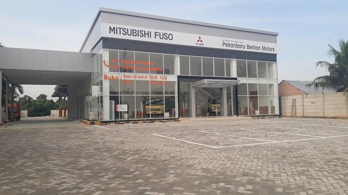 Diler Mitsubishi Fuso resmi hadir di Pekanbaru dibawa operasi PT Pekanbaru Berlian Motors