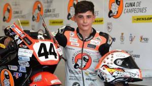 Alm Hugo Milan Gracia, pembalap belia Spanyol yang tewas di Sirkuit Aragon. (Foto: italy24news)