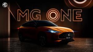 Tampilan keren dari MG One, SUV baru yang akan memberikan experience baru bagi pecinta otomotif