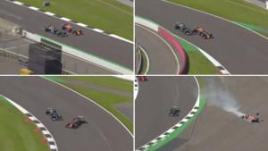 Kronologi insiden Max Verstappen dan Lewis Hamilton di GP Inggris 2021, kini ditinjau ulang FIA. (Foto: thetelegraph)