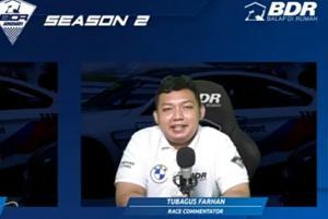 Tubagus Farhan alias TebeF1 memprediksi tiga pembalap teratas Elite Class miliki peluang menjadi juara overall di BDR 2021 Season 2