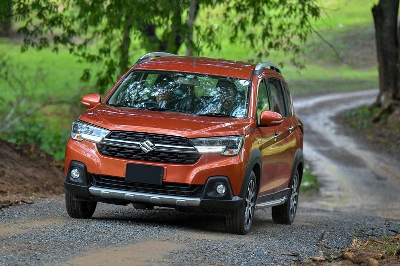 Suzuki XL7 saat melakukan pengetesan di berbagai medan untuk merasakan kenyamanan dan kemampuan jelajahnya