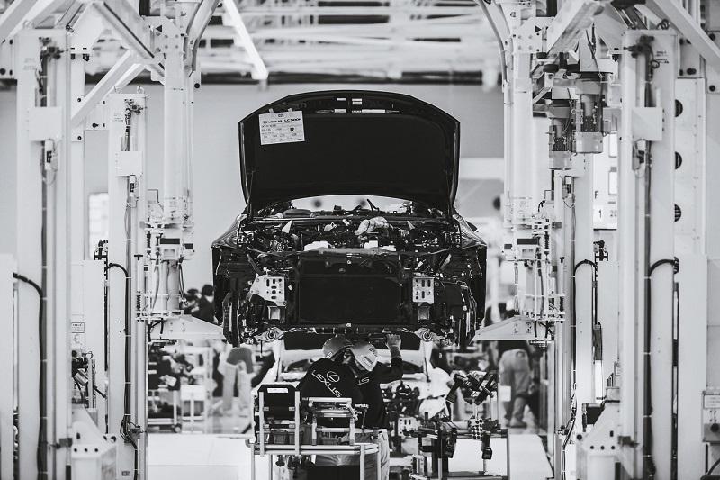 Salah satu pabrik perakitan mobil Lexus under Toyota yang mengalami dampak penutupan pabrik karena kelangkaan pasokan komponen