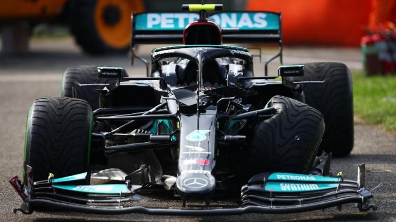W12 besutan Valtteri Bottas yang jadi sumber bencana di GP Hungaria, cuma kena hukuman sangat ringan menurut Red Bull. (Foto: f1)