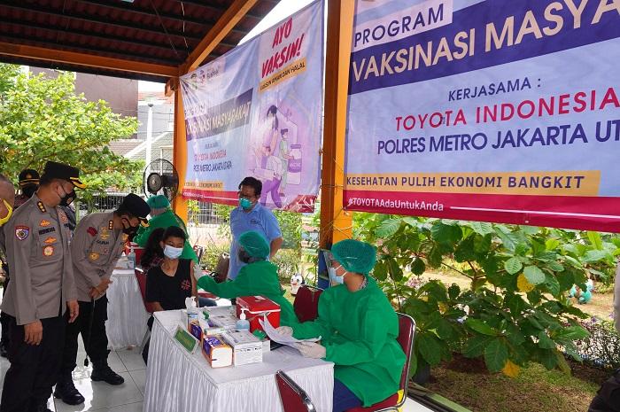 Toyota Indonesia selenggarakan vaksinasi untuk masyarakat umum di Jakarta dan Karawang