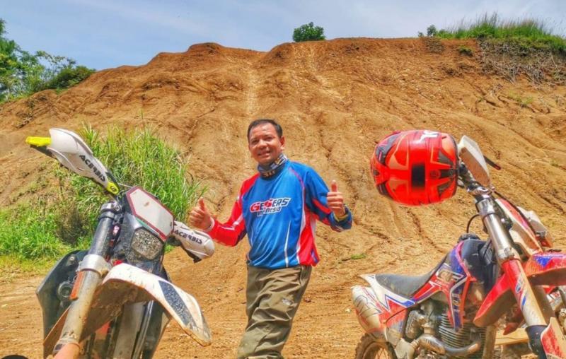Eddy Saputra, motor Yamaha MX King dan KTM untuk PON XX Papua akan tiba di Merauke, September 2021