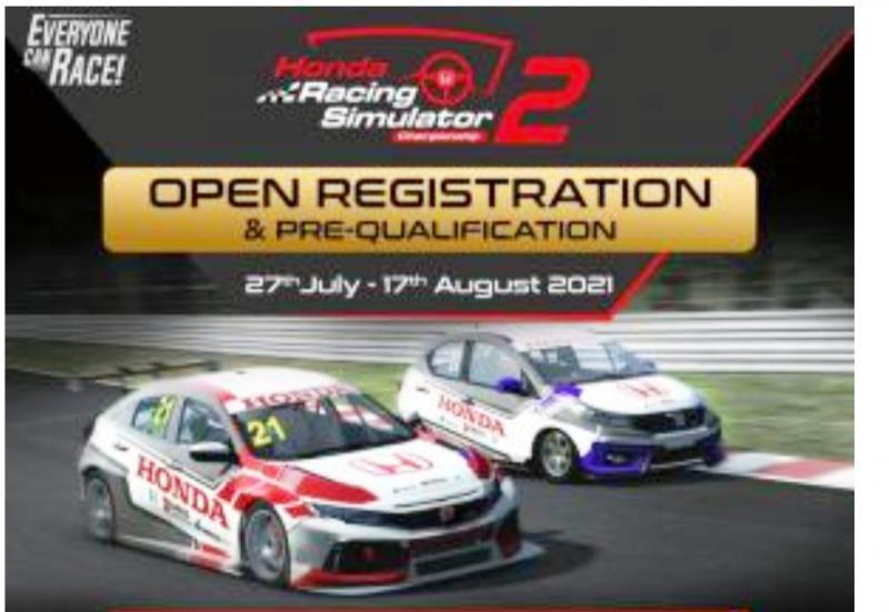 Honda Racing Simulator Challenge 2021 kembali digelar