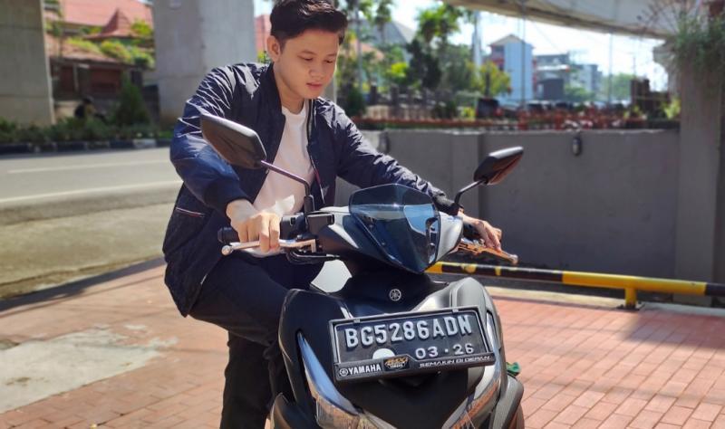 Cara cek motor dulu sendiri sebelum menghubungi dealer resmi Yamaha terdekat
