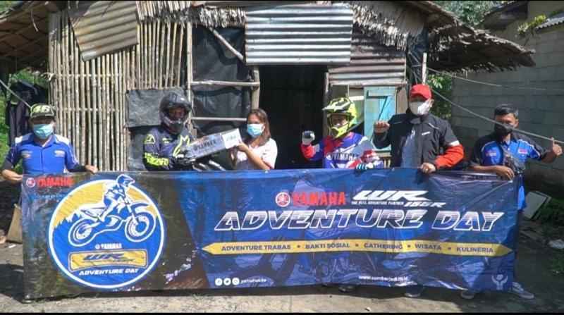 Terabas dan Bakti Sosial WR Adventure Day dengan menyambangi sejumlah obyek pariwisata di Bangka Belitung