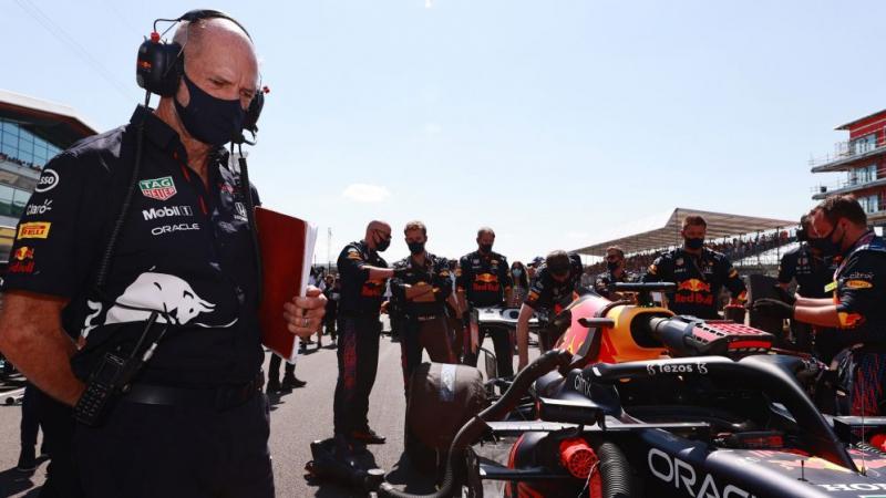 Skuad Red Bull Honda takkan henti mengembangkan RB16B untuk bisa mendapuk gelar juara dunia 2021. (Foto: formula1)