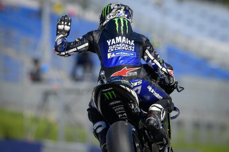 Maverick Vinales, menyerah di Yamaha dan menuju Aprilia di musim 2022. (Foto: speedcafe-motogp)