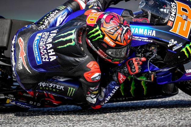 Fabio Quartararo (Prancis/Yamaha), unggul telak 47 poin masuk GP Inggris akhir pekan ini. (Foto: yamaha)