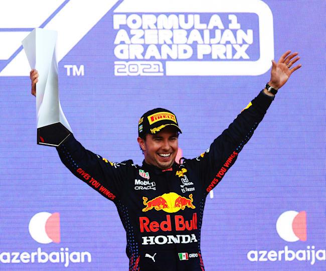 Sergio Perez (Meksiko/Red Bull Honda), kemenangan di GP Azerbaijan belum amankan posisinya ke musim 2022. (Foto: redbull.com)
